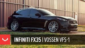 infiniti jeep 2005 infiniti fx35 vossen vfs 1 wheels youtube