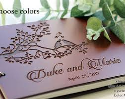 customizable guest books custom guest book etsy