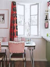 Retro Red Kitchen Chairs - 248 best chrome kitchen dinette table and chairs images on