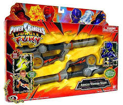 power rangers jungle fury jungle tonfah staff roleplay toy bandai