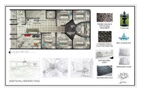 Floor Plan With Elevation And Perspective by Portfolio By Carolann Bond At Coroflot Com