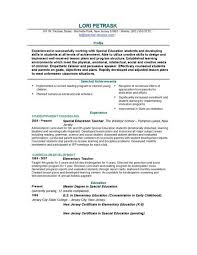 teaching resume template resumes templates resume and cover letter resume and