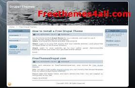 free drupal themes u2013 responsive free website templates