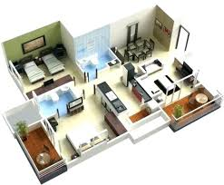 modern house design plan 3d 4 bedroom house plans best home design home and floor plans on