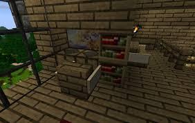 bureau minecraft minecraft chalet