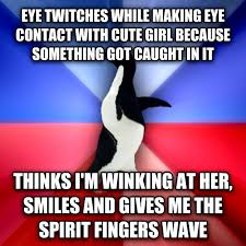 Spirit Fingers Meme - livememe com socially awkward awesome penguin