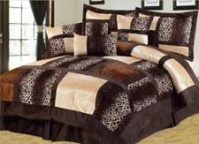 Patchwork Comforter Animal Print Bedding Ebay