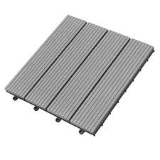 Snap Together Slate Patio Tiles by Amazon Com Abba Patio Interlocking Flooring Decking Tiles Outdoor