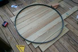 replace glass patio table top with wood hurricane sandy destroyed my patio table so i rebuilt it album on