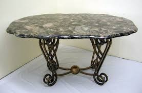 round granite table top dtdssvema round granite table top iron wood