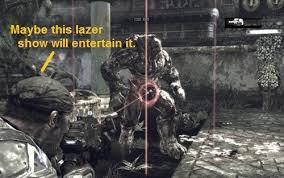 Gears Of War Meme - gears of war laser show