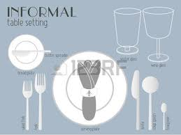 table setting western style common type of table setting for western dining there is only
