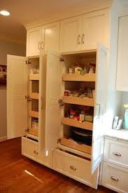 Cabinet Pull Out Shelves by Pull Out Pantries This Homeowner Likes The Full Pull Outs Much