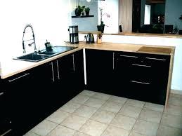cuisine laqué noir meuble de cuisine noir laque cuisine noir brillant cuisine laque