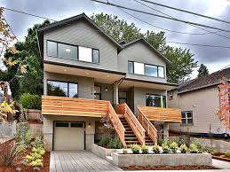 Modern Row Houses - oregon home builders offer modern rowhouses in northeast portland