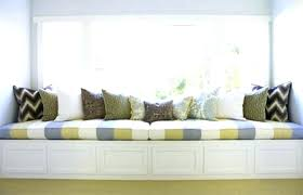 indoor kitchen window seat cushions indoor kitchen cushions custom banquette chair