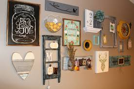 wall gallery ideas rustic glam gallery wall ellery designs