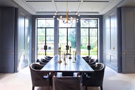 luxurius formal dining room with additional home design planning