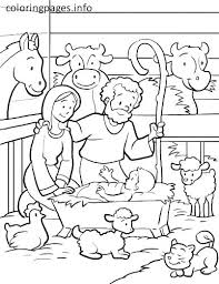 printable coloring pages nativity scenes nativity scene coloring pages manger coloring page manger coloring