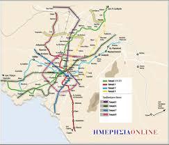 Athens Map Of Athens Greece