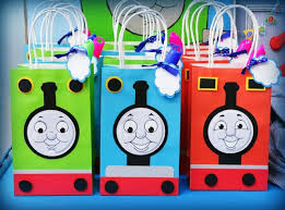 thomas friends birthday party ideas boy birthday favor bags