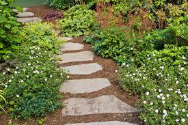 stone garden design ideas garden pathways designs homesfeed