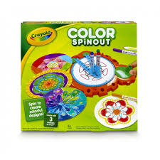 crayola color spinout includes unit 6 pip skinny markers design