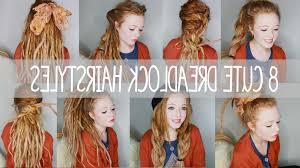 dreadlocks hairstyles youtube cute hairstyles for dreadlocks 8 cute dreadlock hairstyles youtube