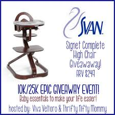 Svan Chair Win A Svan Signet Complete High Chair Our Piece Of Earthour