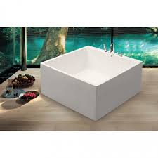 52 Bathtub Small Bathroom Bathtub Aquatica Liquid Space 55 In X 55 In Soaking