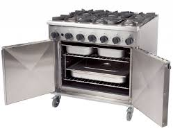 Titan Kitchen Titan Rg90 6 Burner Gas Oven Cooker Commercial Gas Cookers