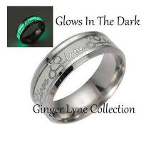 comfort fit wedding bands glow in the comfort fit wedding band ring lyne