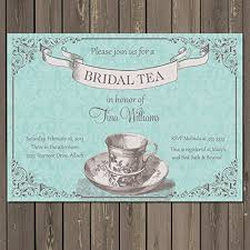 bridal tea party invitation tea party bridal shower invitation bridal shower tea