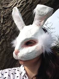 paper mache rabbit paper mache animal masks and faux taxidermy animal heads