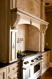 Custom Range Hoods Bring Rich Looks To Todays Home  Habersham - Habersham cabinets kitchen