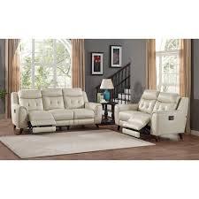 amax leather paramountsl paramount 2 piece set power reclining