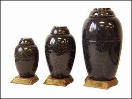 marble urns black marble pet urns by everlife memorials
