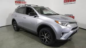 toyota sport utility vehicles new 2017 toyota rav4 se sport utility in escondido 1014720