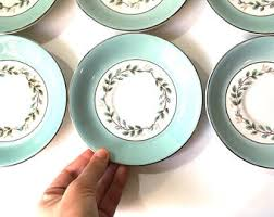 mismatched plates wedding mismatched tea set etsy