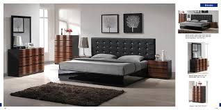 Black Leather Bedroom Sets Contemporary Modern Bedroom Furniture Uv Furniture