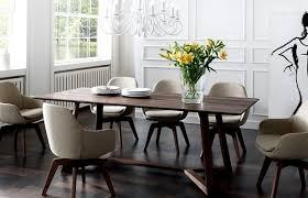 moderne stühle esszimmer ausziehbarer esstisch holz mit stühle esszimmer leder schwarz