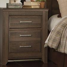 signature design by ashley furniture juararo 2 drawer nightstand