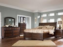 porter bedroom set furniture b697 porter or king sleigh storage bed