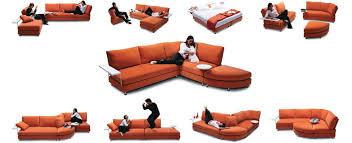 Option  Lounge For Living Room King Furniture Delta II - Sofa bed modular lounge 2