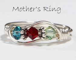 make mothers rings images 3 stone mothers ring etsy jpg