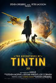 steven spielberg discovered tin tin for a movie