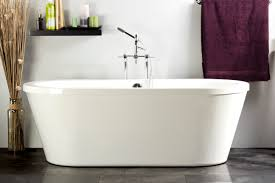 nouvelle 5 u0027 contemporary freestanding bathtub foremost canada