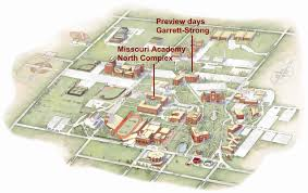 University Of Michigan Campus Map by Missouri Academy Northwest