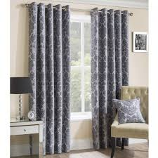 Silver And Red Curtains Plain Red Lined Eyelet Curtains Nrtradiant Com