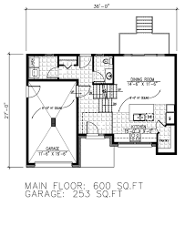 600 Sq Ft Floor Plan by Modern Style House Plan 2 Beds 1 50 Baths 1446 Sq Ft Plan 138 379